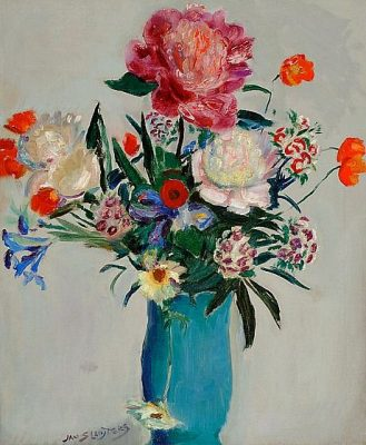 Flower paintings<br>this one is by Jan Sluiters</br>