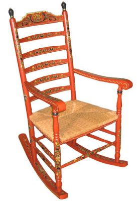Rocking chair<br> by Roosje Hindeloopen</br>