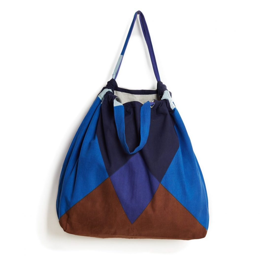 randy blue bag L
